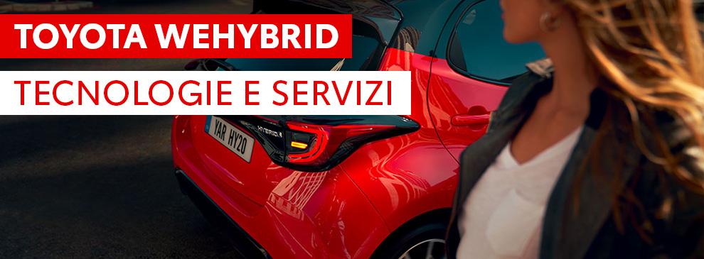 Toyota WeHybrid: tecnologie e servizi
