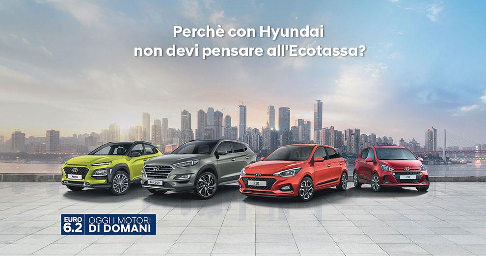 Incentivi 2019: Perchè con Hyundai non devi pensare all'Ecotassa?