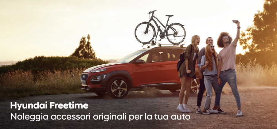 Hyundai Freetime: Noleggia accessori originali e scopri i Kit disponibili