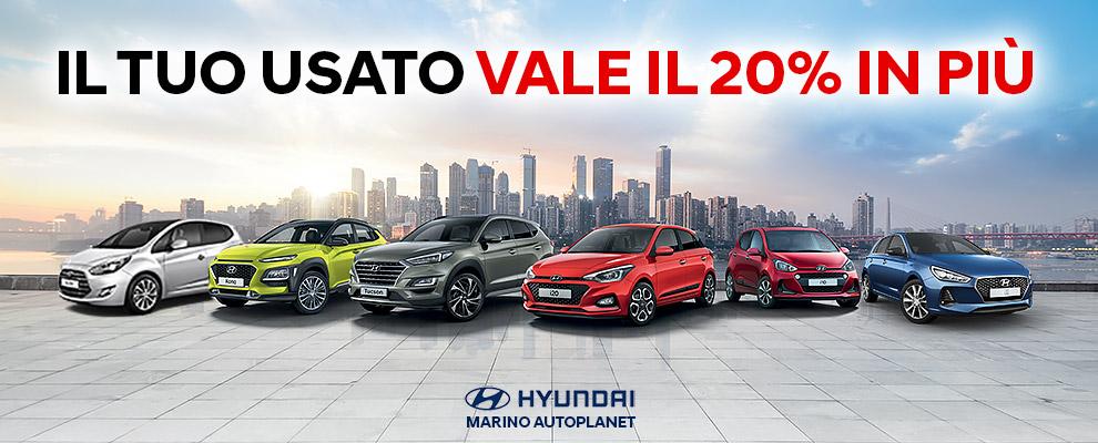Passa a Hyundai, la tua Auto Usata vale di Più!