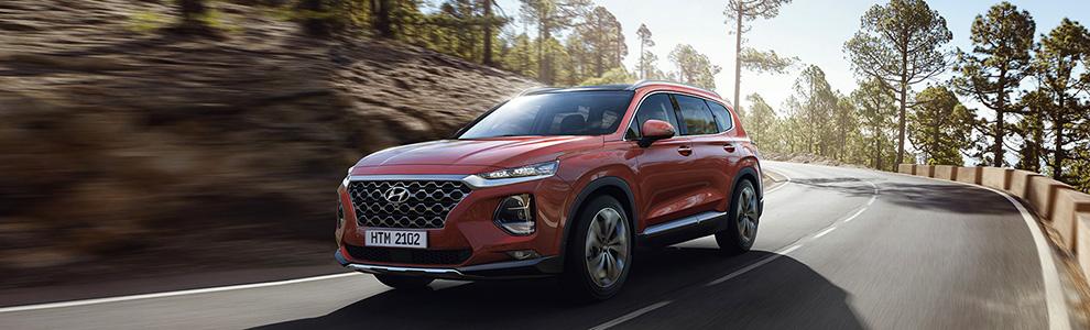 Prenota un Test Drive: Hyundai Santa Fe
