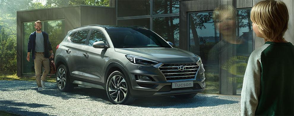 Prenota un Test Drive: Hyundai Tucson