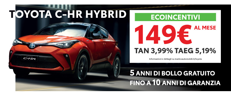 Toyota Nuovo C-HR