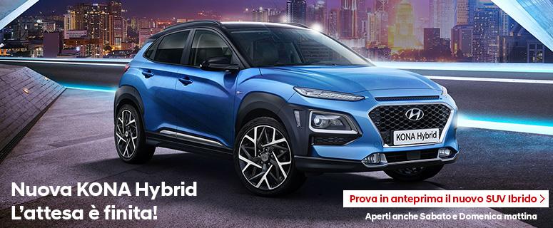 Scopri Nuova Hyundai Kona Hybrid.