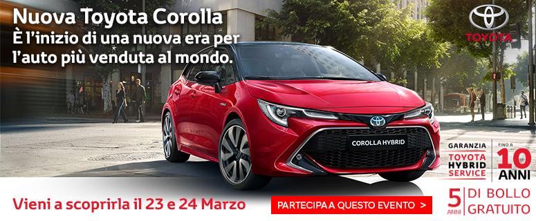 Promozione: Toyota Nuova Corolla Hybrid- Prezzo