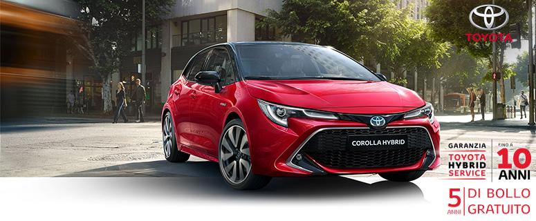 Promozione: Toyota Nuova Corolla Hybrid- Prezzi 2019