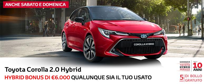 Promozione: Toyota Nuova Corolla Hybrid - Prezzi 2019