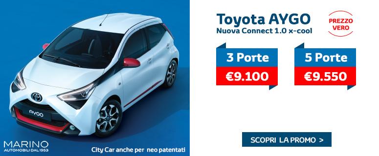Promozione: Nuova Toyota AYGO - Prezzi 2019