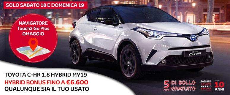 Promozione: Toyota C-HR Hybrid - Prezzi 2019