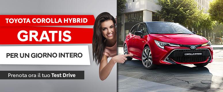 Promozione: Toyota Nuova Corolla Hybrid