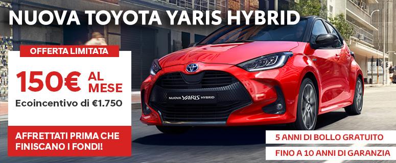 Promozione: Nuova Toyota YARIS Hybrid - Prezzi 2019