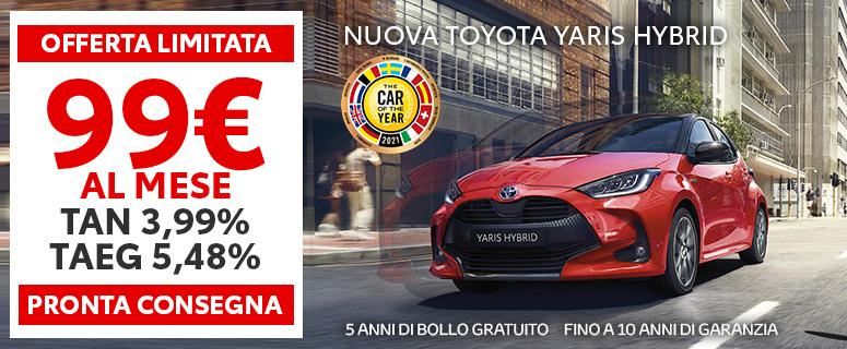 Promozione: Nuova Toyota YARIS Hybrid - Prezzi