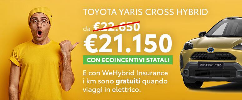 Prenota un Test Drive: Toyota Yaris Cross