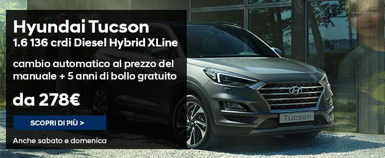 Nuova Hyundai Tucson - Promozioni e Prezzi 2019