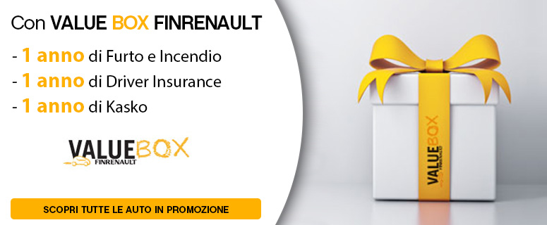 Finanziamento Renault Value Box Summer