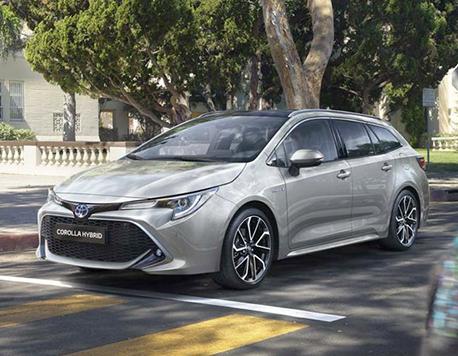 Nuova Corolla Hybrid Touring Sports