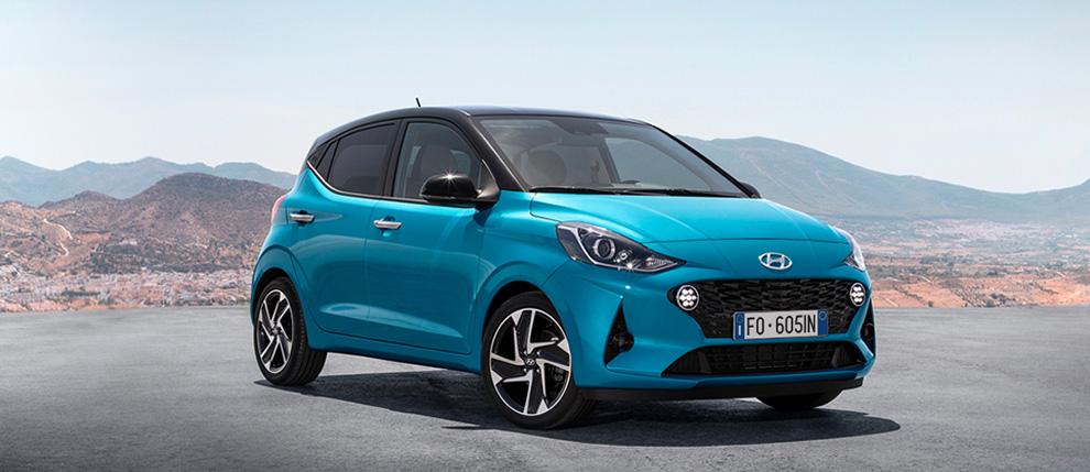 Hyundai i10 1.0 GPL Econext con Ecopack Advanced (Benzina) - Dimensioni, Consumi e Dotazioni di serie