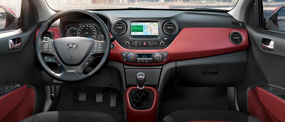 Hyundai i10 interni