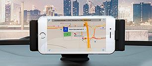 Hyundai i10 smartphone docking station