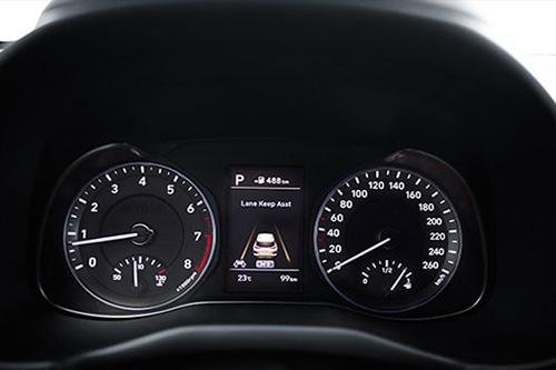 Hyundai Kona Quadro strumenti ad alta definizione