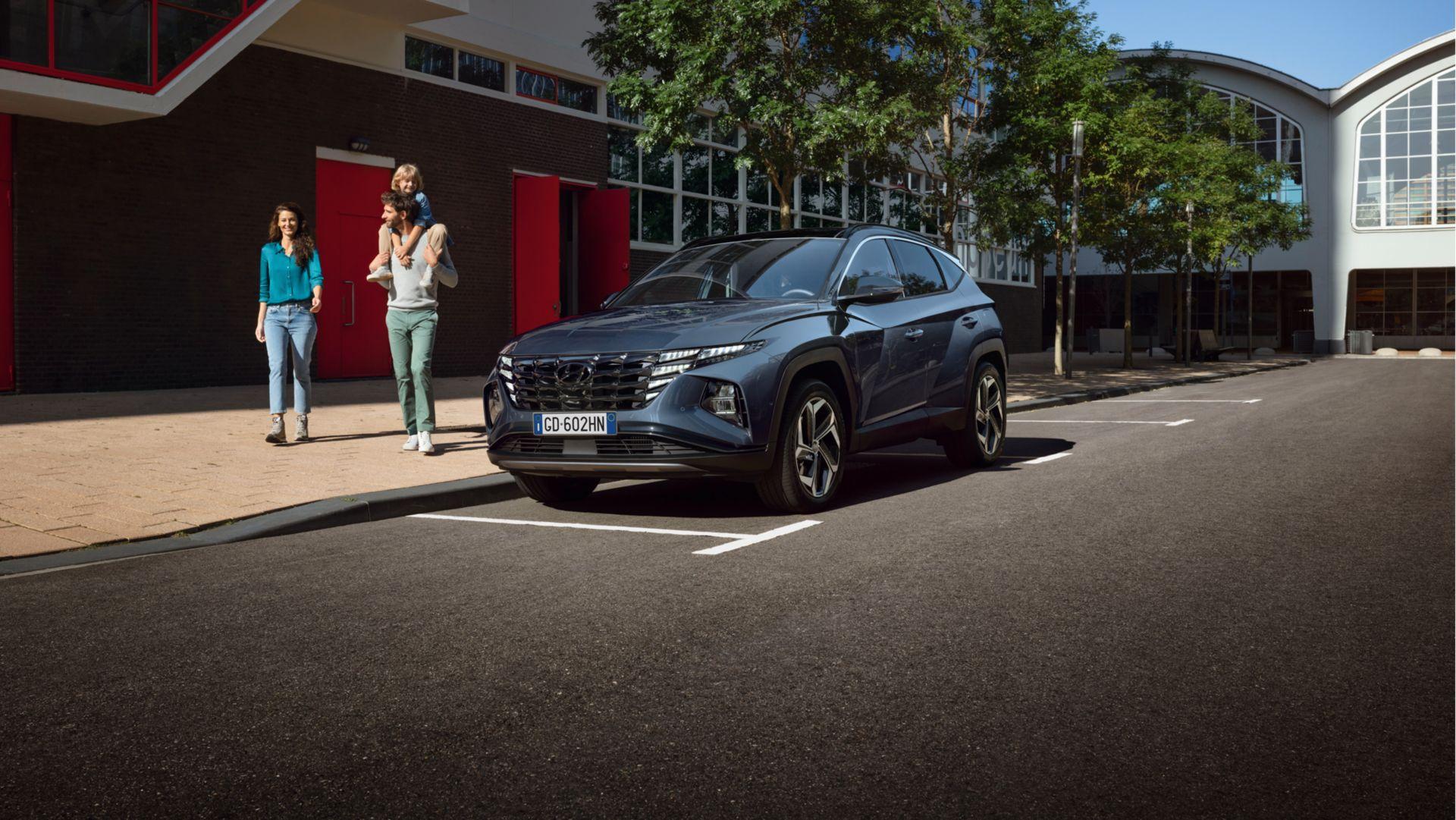 Hyundai Nuovo Tucson Hybrid: Preventivo Gratuito e Personalizzato!