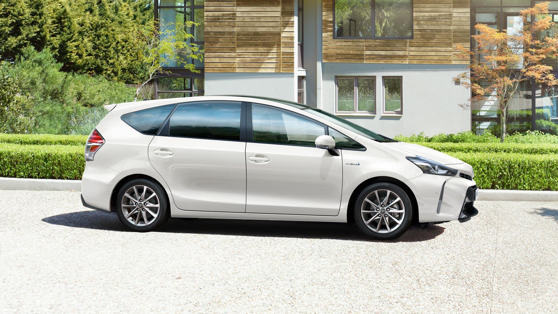 Toyota Prius+ 1.8 Lounge (Benzina Hybrid) - Dimensioni, Consumi e Dotazioni di serie