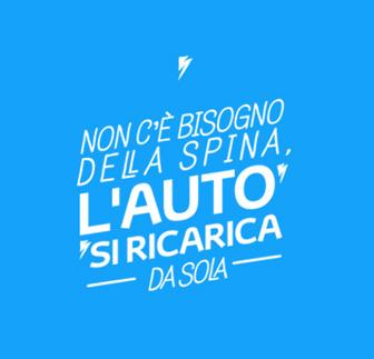 Toyota - Non c'è bisogno della spina, l'auto si ricarica da sola