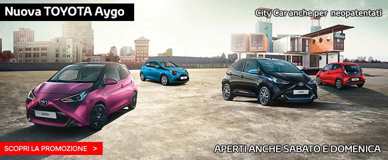 Promozione: Nuova Toyota AYGO - Prezzo