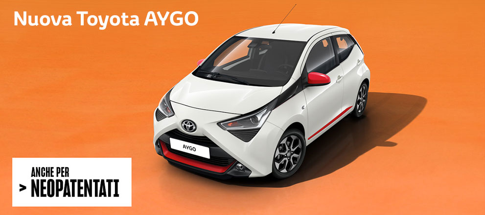 Toyota Aygo (x-cool) tutte le versioni