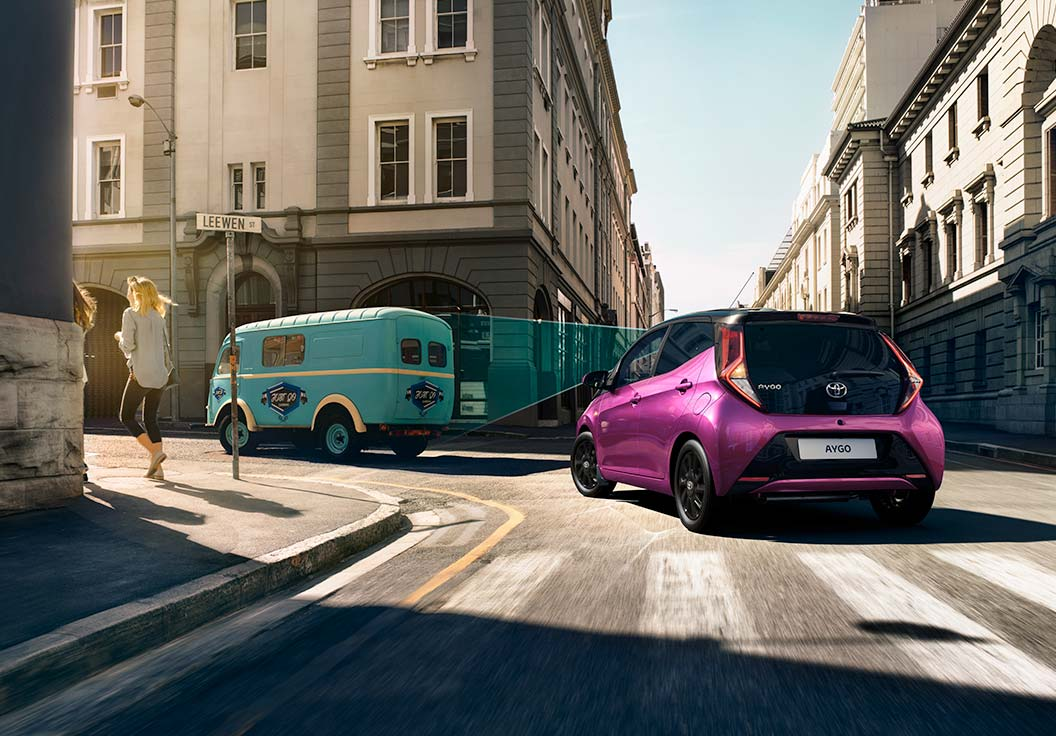 Nuova Toyota Aygo Equipaggiata