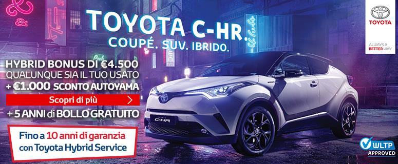 Promozione: Toyota C-HR Hybrid - Prezzo