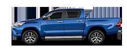Toyota Hilux 2.4 D-4D A/T 4WD 4 porte Double Cab Lounge Diesel