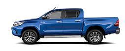 Toyota Hilux 2.4 D-4D 2WD 2 porte Chassis & Cab Diesel