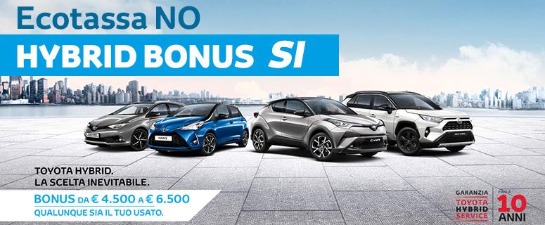Ecotassa No, Hybrid Bonus SI