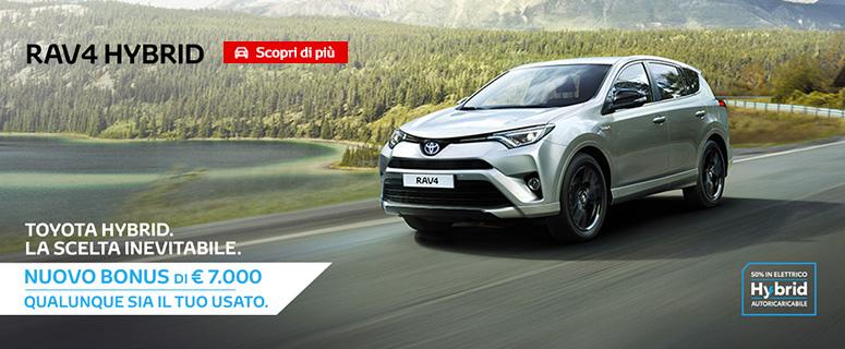PROMOZIONE: Nuovo Toyota RAV4 Hybrid