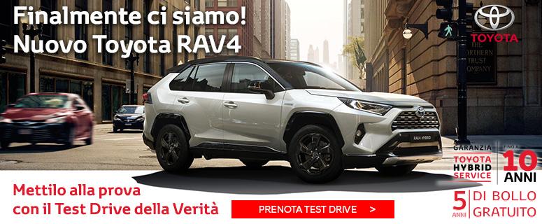 Novità: Nuovo Toyota RAV4 Hybrid - Prezzo